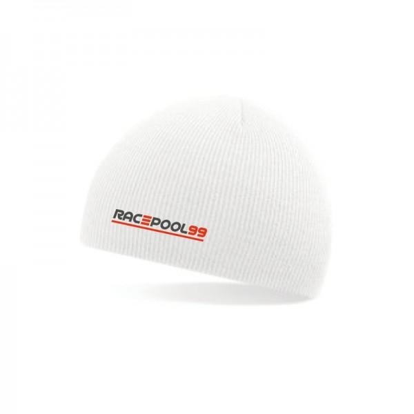 Mütze Strick weiß Unisize