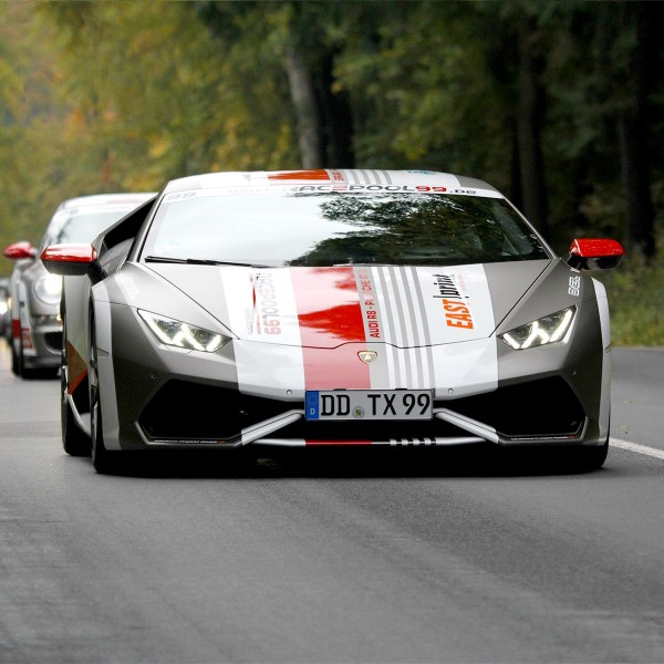 Sportwagen Touren mit dem Lamborghini Huracán LP 610-4