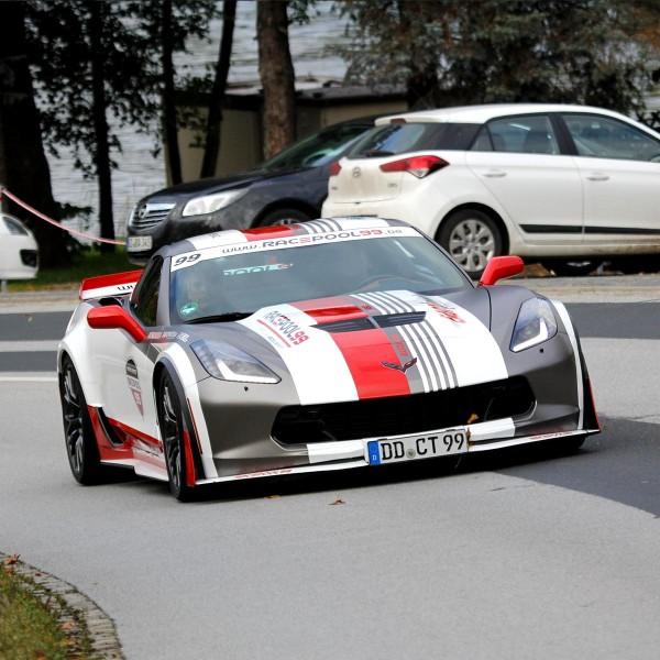 Sportwagen Touren mit der Corvette Z06 C7.R