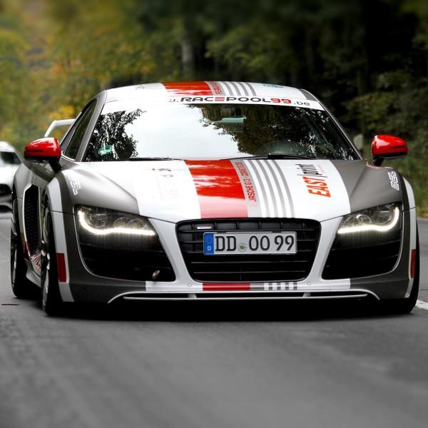 Sportwagen Touren mit dem Audi R8 V10