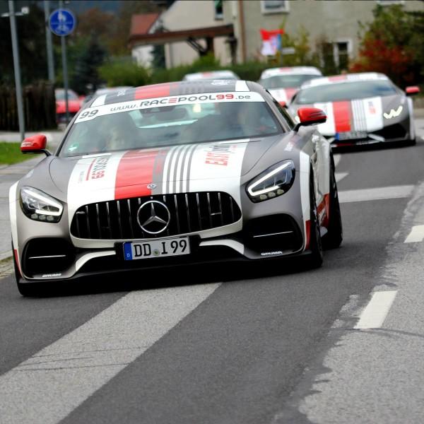 Sportwagen Touren mit dem Mercedes AMG