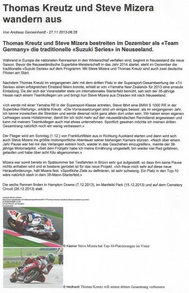 2013-11-27_Speedweek_Thomas-Kreutz-und-Steve-Mizera-wandern-aus